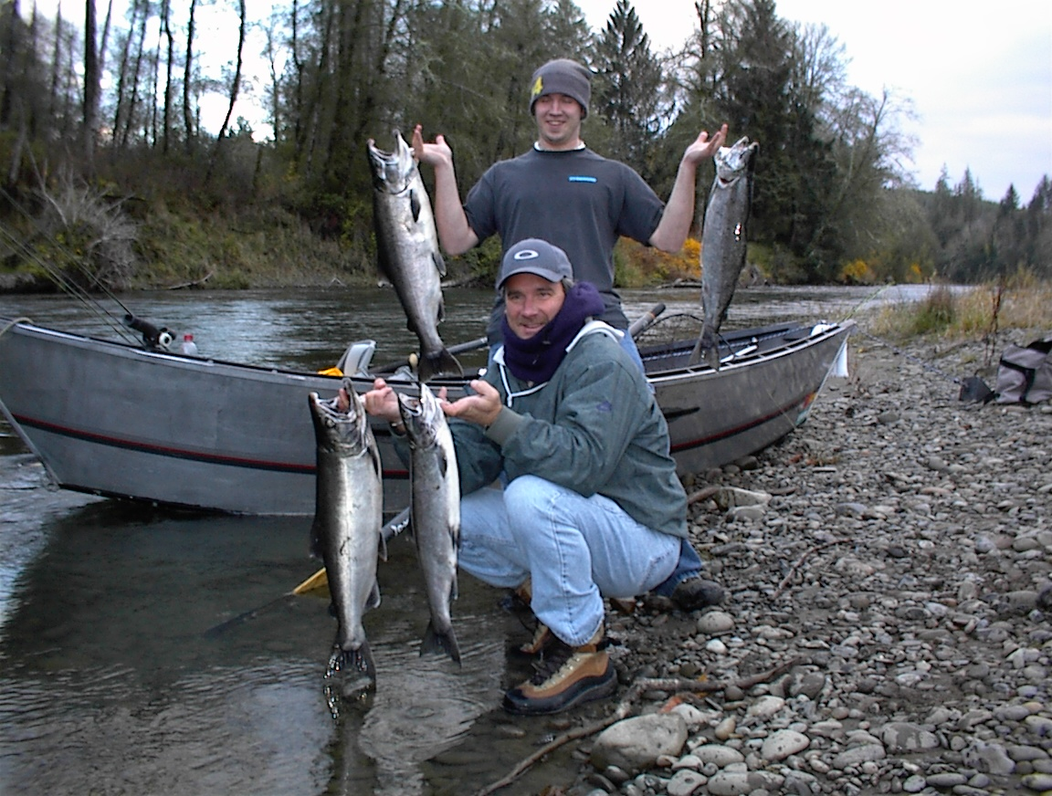 Limits of Fall Coho Salmon
