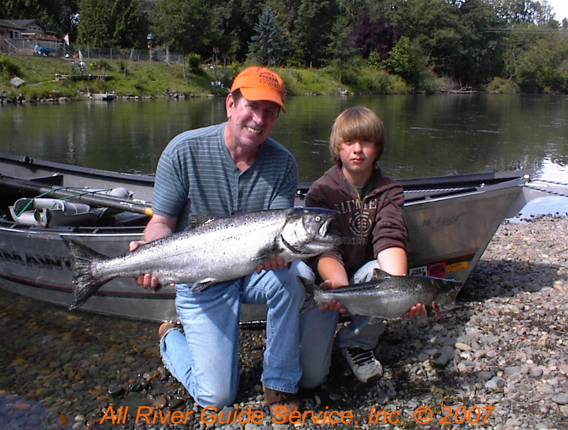 Nisqually River Chinook Salmon
