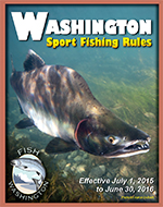 2015-2016 WDFW Fishing in Washington Rules Pamphlet